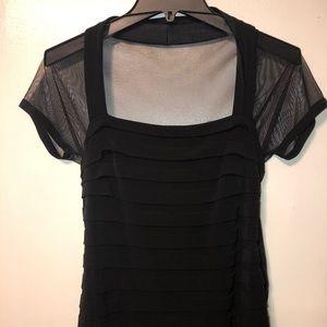 Maggy London Women's Black Cocktail Dress